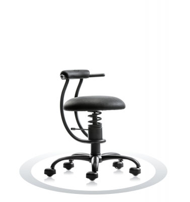 SpinaliS office chair - Smart black  R904 (Renna), black frame